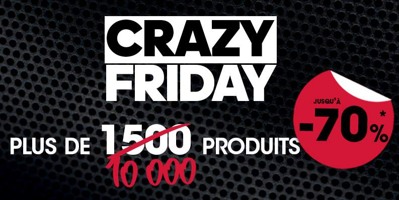 Black Friday GoSport ! Remise sur 10000 articles jusqu'à 70%