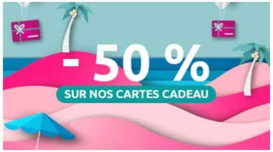 Black Friday Last Minute 50% De Remise Sur Toutes Les Cartes Cadeau