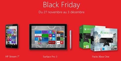 Black Friday Microsoft 2014