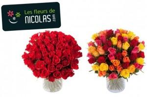 Bouquet moitie prix Les Fleurs de Nicolas