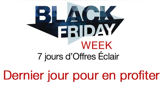 Dernier jour Black Friday Amazon