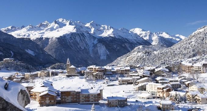 Forfait Aussois en Vanoise journee ski moitie prix
