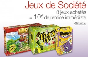 Jeux de societe Asmodee 10 euros de remise immediate