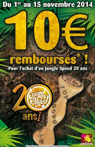 Jungle Speed Special 20 Ans remboursement
