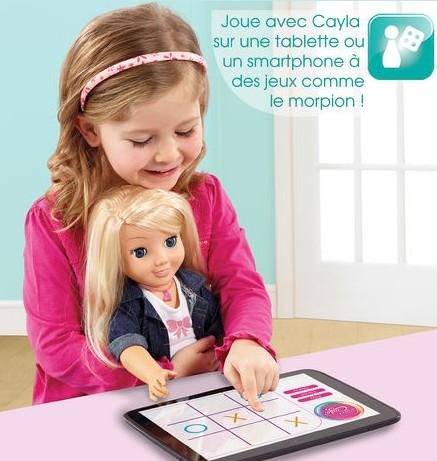 Poupee Cayla application