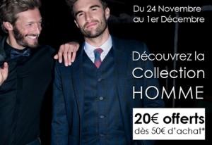Promod Homme : 20 euros de remises