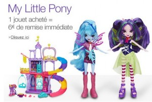 Remise immediate My Little Pony