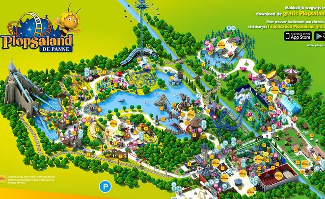 Fabuleux Parc attraction Plopsaland pas cher : 21 euros au lieu de 35 euros  IZ66