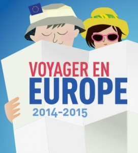carte et guide Voyager en Europe 2014-2015