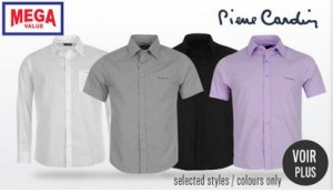 chemise Pierre Cardin a 10 euros