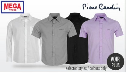 cheap for discount excellent quality factory price 8,59 euros la chemise Pierre Cardin homme port inclus ...
