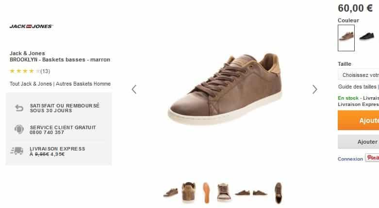 chaussures Brooklyn  Jack  Jones Zalando