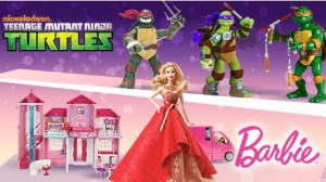 jouet Barbie ou Tortue Ninja AUCHAN