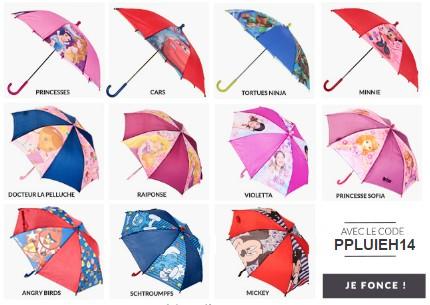 parapluie enfant gratuit