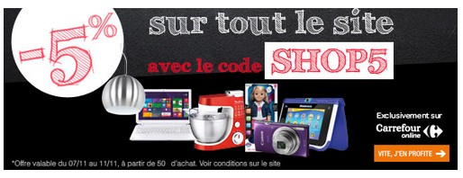 remise Carrefour