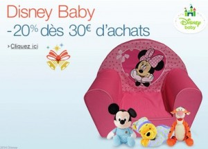 remise immediate sur Disney Baby