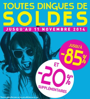 remise supplementaire soldes Excedence
