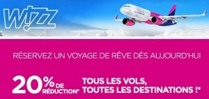 remises vols Wizz Air