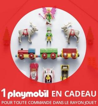 1 Playmobil gratuit 3 Suisses