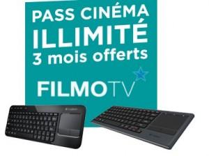 3 mois Pass Cinéma illimité FilmoTV offert