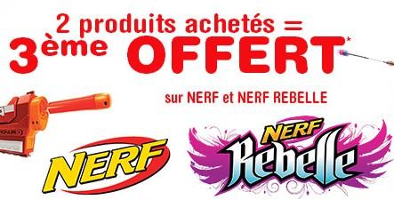 Bon plan Nerf Toys r US