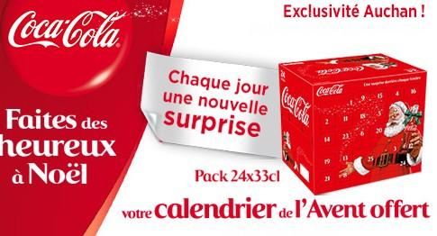 Calendrier de Avent Coca-Cola 2014