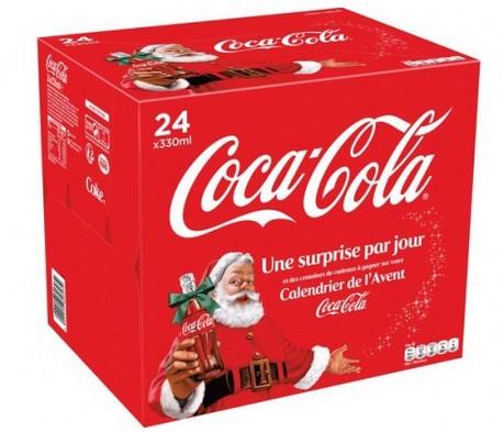 Calendrier de Avent Coca-Cola AUCHAN