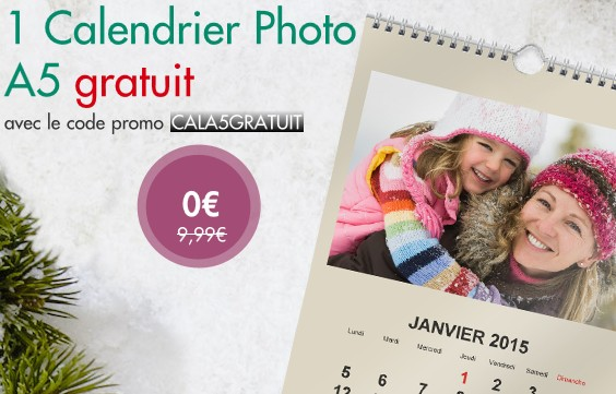 Calendrier photo 2015 gratuit