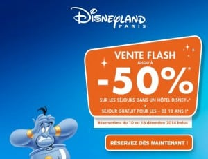 Disneyland moitié prix