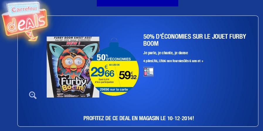 Furby Boom à moitié prix