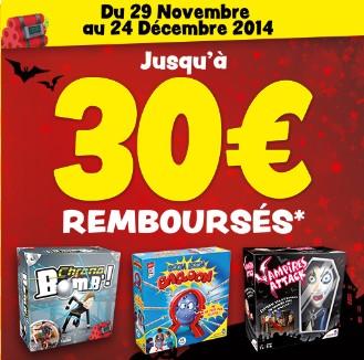 Offre remboursement 10 euros Dujardin 2014