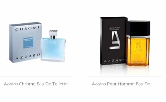 Parfums Azzaro homme pas chers