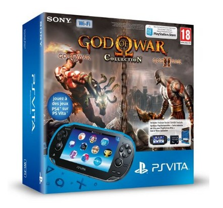 Playstation Vita Wifi God of war