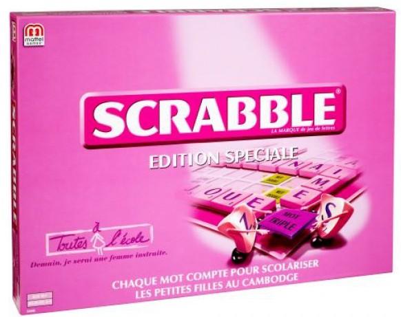 Scrabble rose à moins de 15 euros