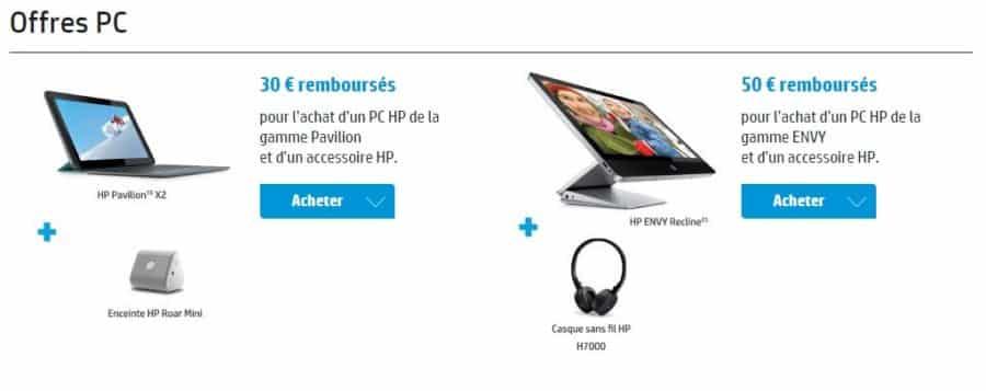 TOUS LES VOEUX SONT PERMIS HP PC