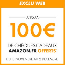 carte Amazon sur les abonnements Canal