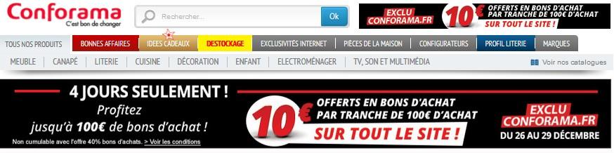 conforama 10 euros par tranche 100 euros