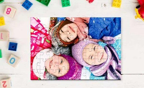 Puzzle Photo Personnalisé 18 Cm X 13,5 Cm