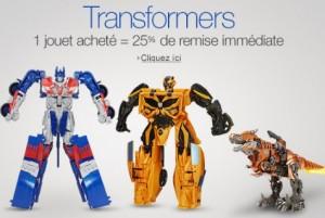 remise sur les Transformers