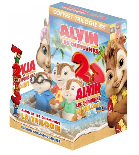 Moins de 15 euros la trilogie alvin et les chipmunks 1 2 et 3 en dvd 1 pel - Cadeau moins de 15 euros ...