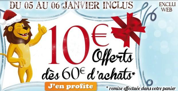 10 euros de remises King Jouet
