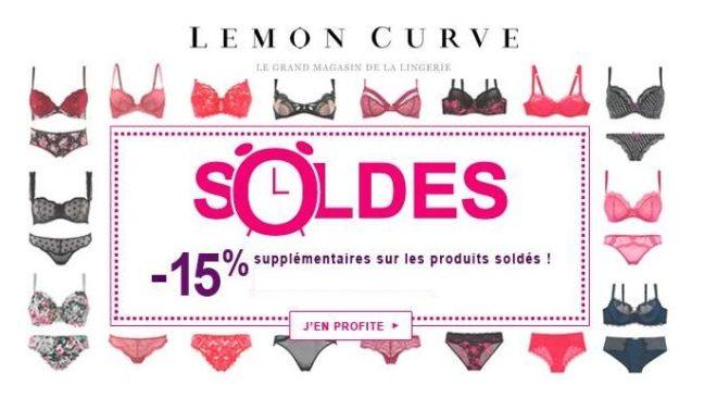 15% supplémentaire sur les Soldes Lemon Curve