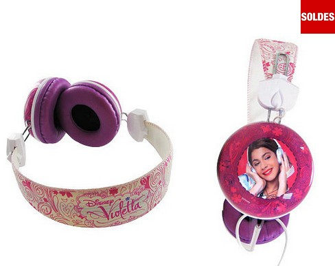 Casque audio Violetta en soldes