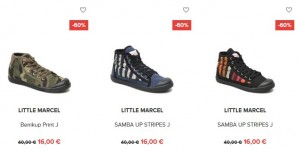 Chaussures Little Marcel Fille a 16 euros