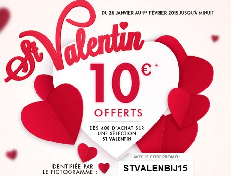 sp cial st valentin 10 euros offert d s 40 euros sur les bijoux tati. Black Bedroom Furniture Sets. Home Design Ideas