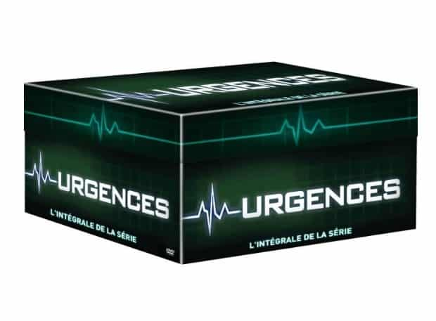 Coffret DVD integrale Urgences