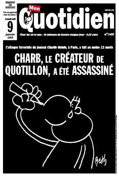 Le Quotidien Charlie Hebdo pour les enfants