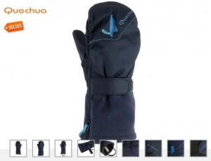 Moufles Ouate Bebe Quechua soldes