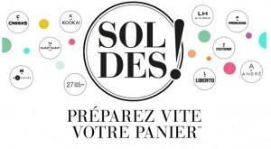 Preparez les soldes pastilles couleurs Soldes La Halle Hiver 2015