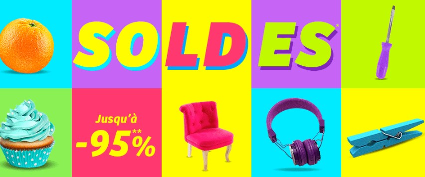 Soldes CDiscount hiver 2015